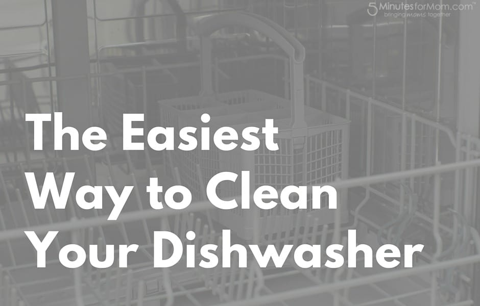 Easy Way to Clean Dishwasher