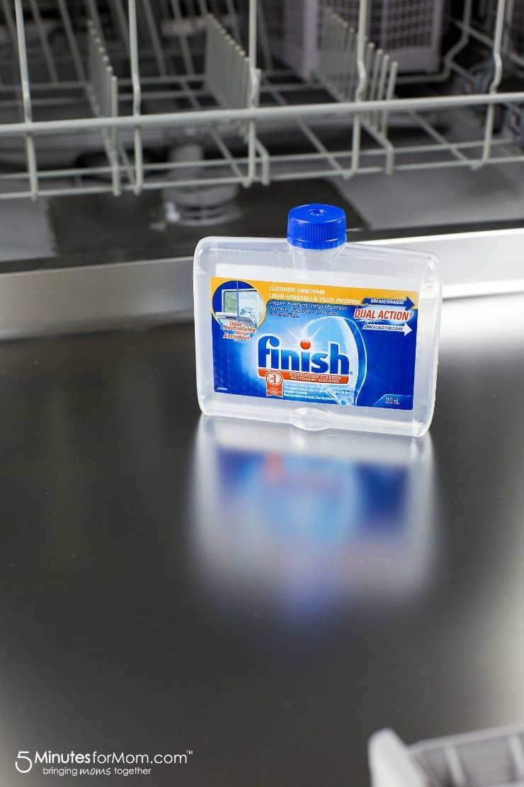 Empty Finish Clean Dishwasher
