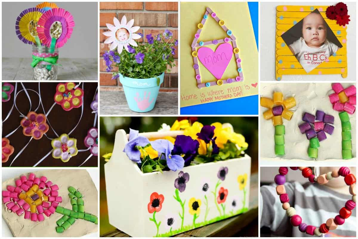 Mothers Day Gifts Kids Can Make - Kids Craft Ideas