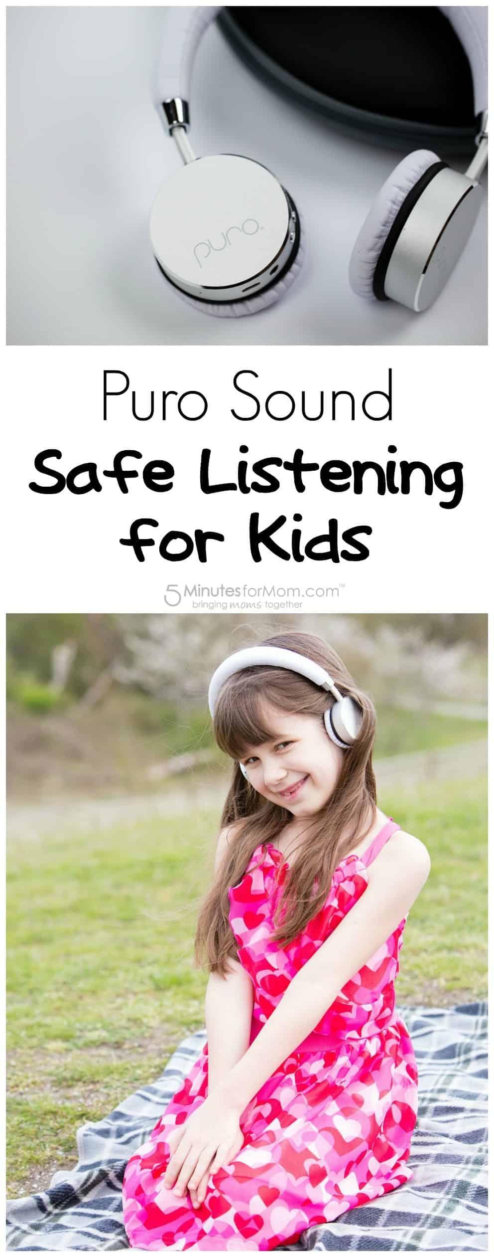 Puro Sound Headphones - Safe Listening for Kids
