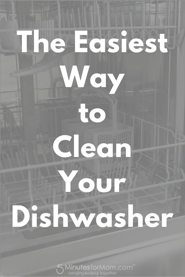 The Easiest Way to Clean Your Dishwasher