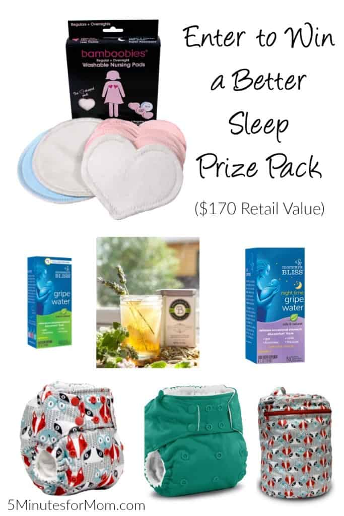 Enter to win a Better Sleep Prize Pack ($170 Retail Value)