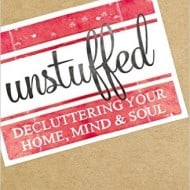How to get Unstuffed and Tidy Up
