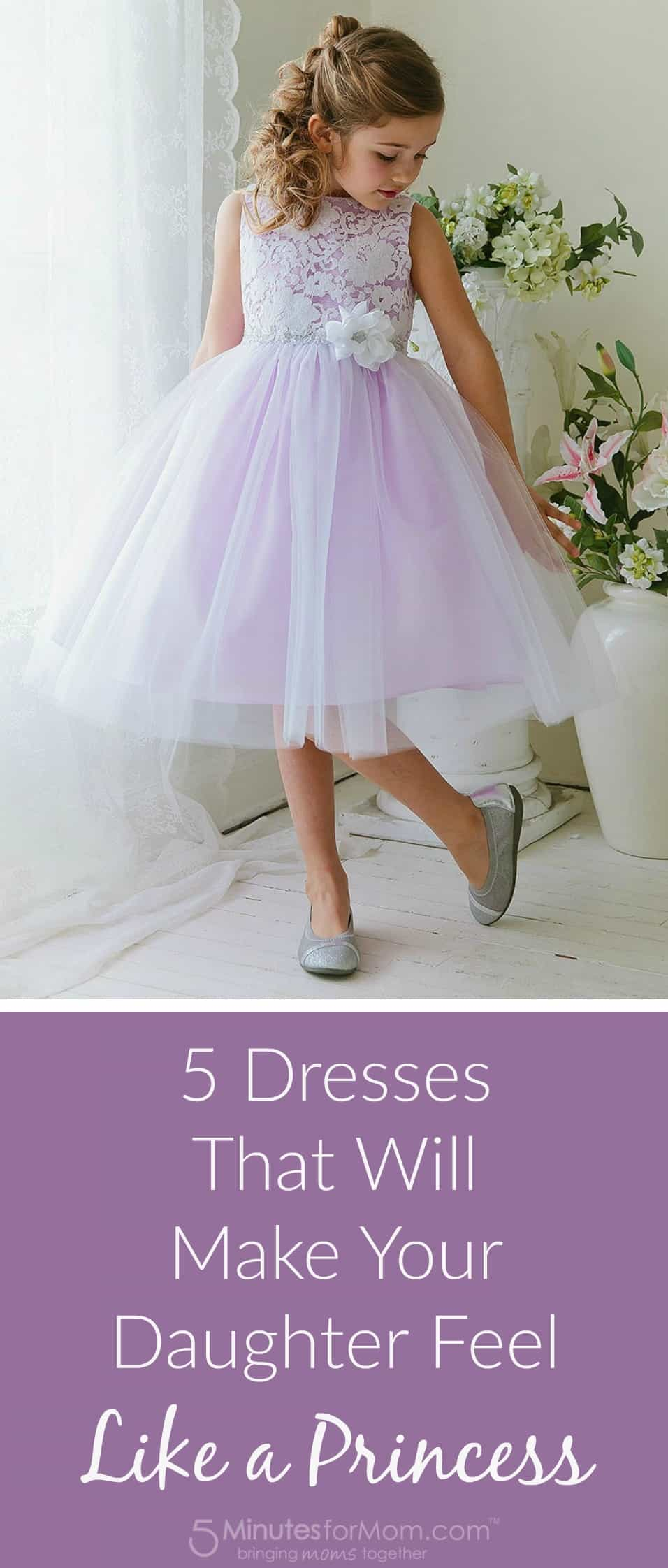 5 dresses that will make your daughter feel like a princess
