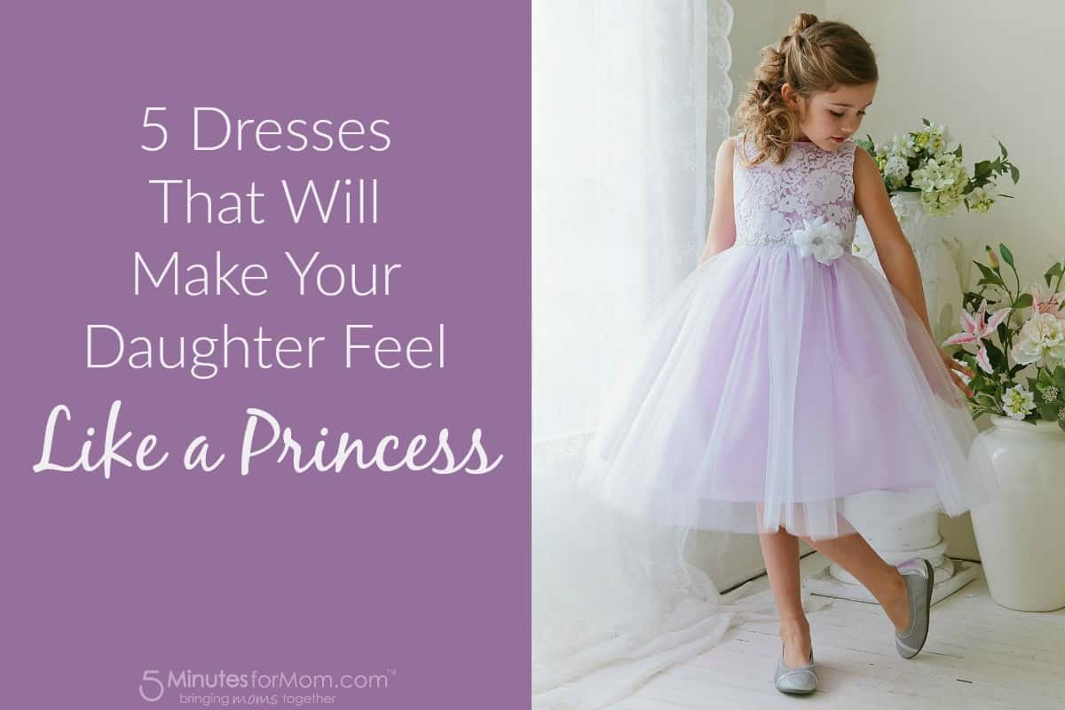 Dresses that will make your daughter feel like a princess