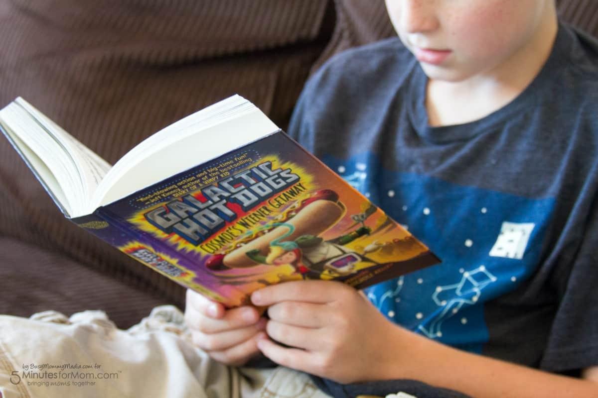 Galactic Hot Dog Book