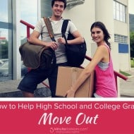 How to Help High School and College Grads Move Out