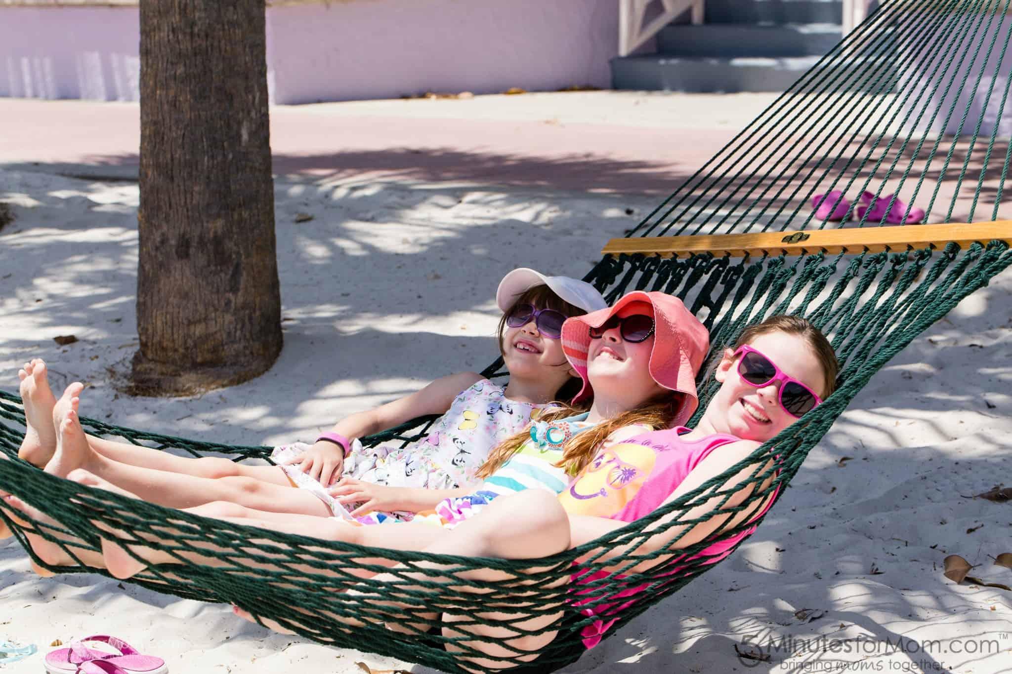 Life is better in a hammock
