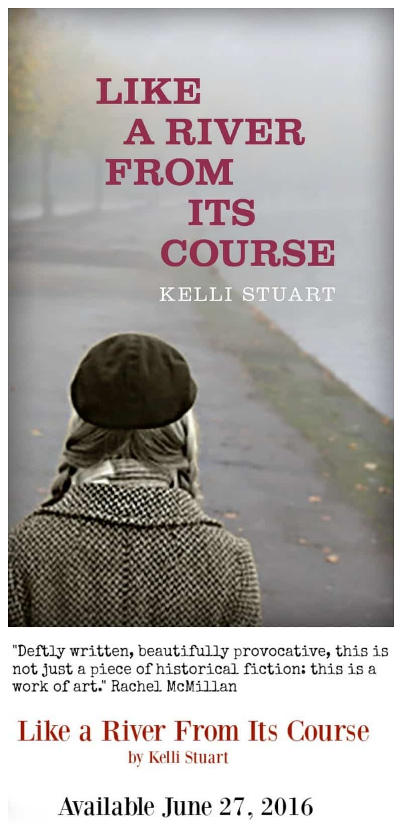 Like a River From Its Course - New Novel by Kelli Stuart