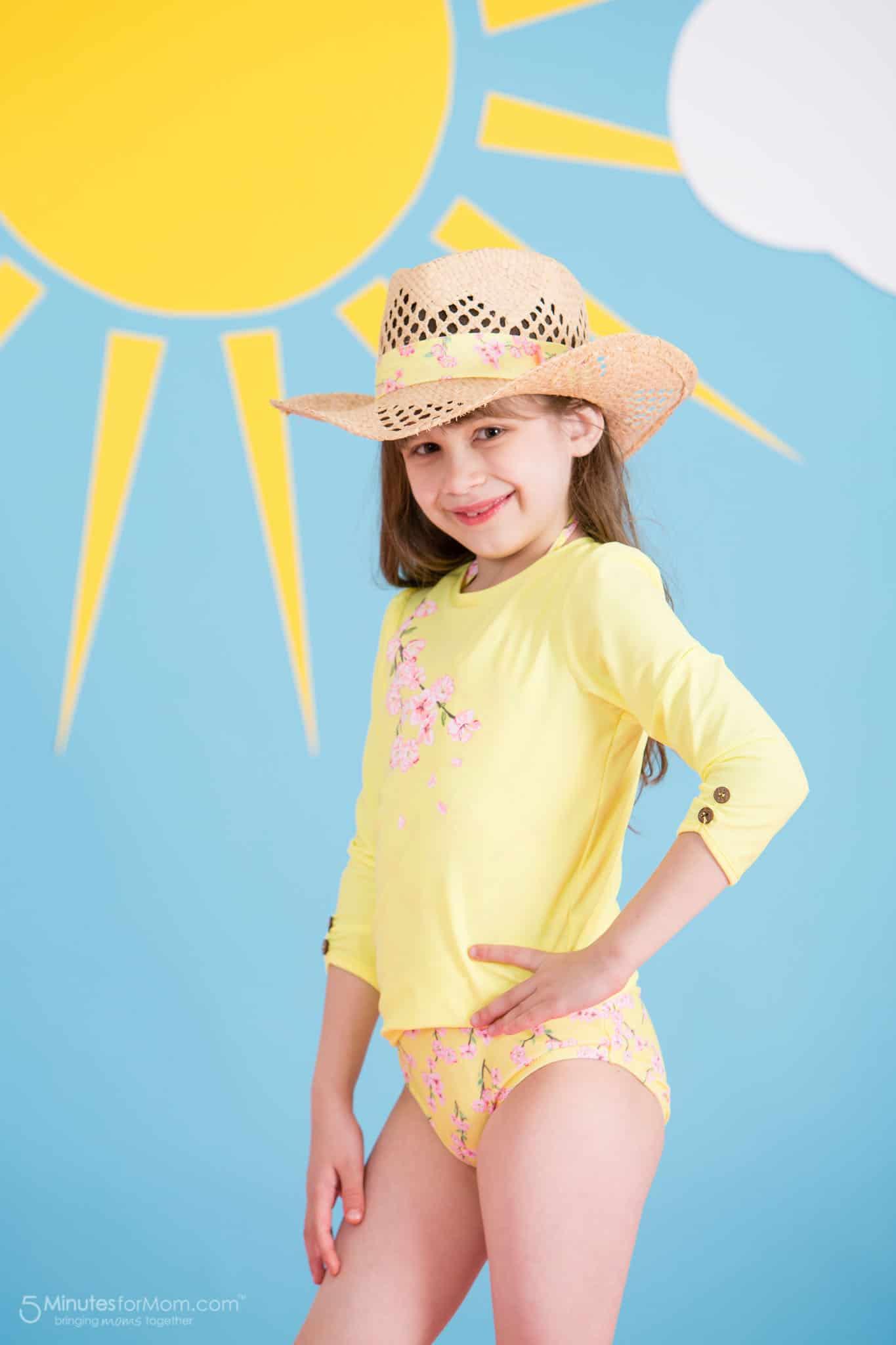 Sunuva Girls Blossom Rash Vest