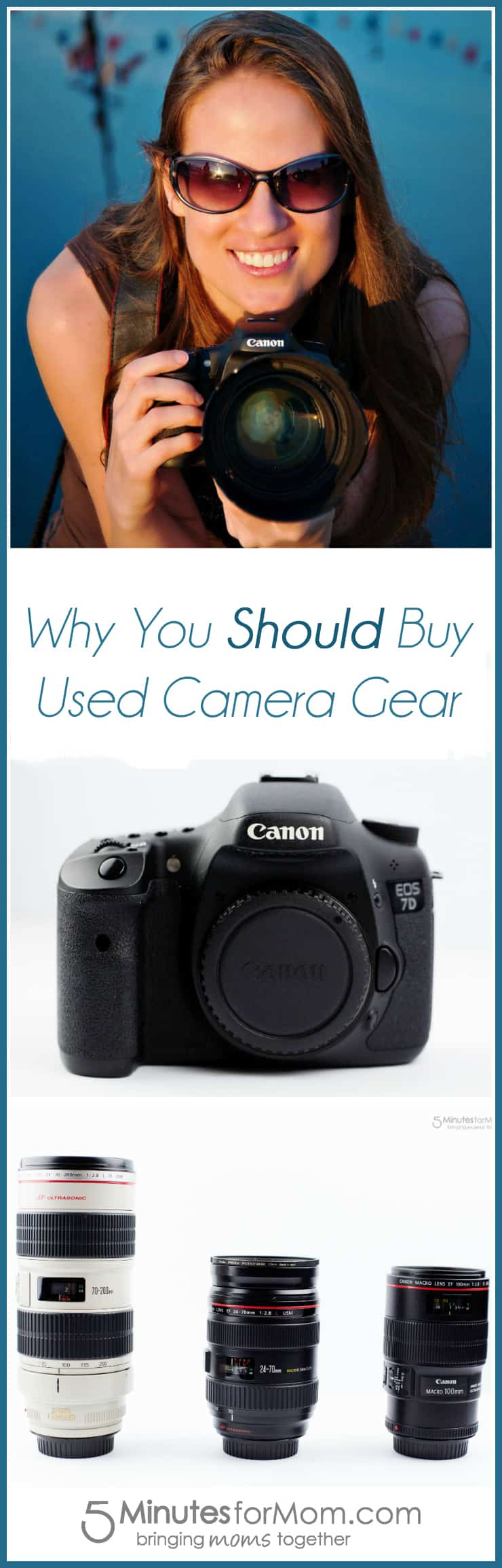 Why You Should Buy Used Camera Gear