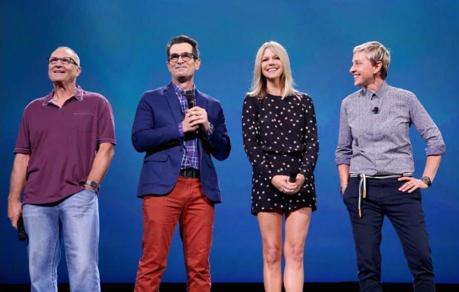 D23 Expo 2015 Cast - Ellen DeGeneres, Ed O'Neill, Kaitlin Olson, Ty Burrell #FindingDory