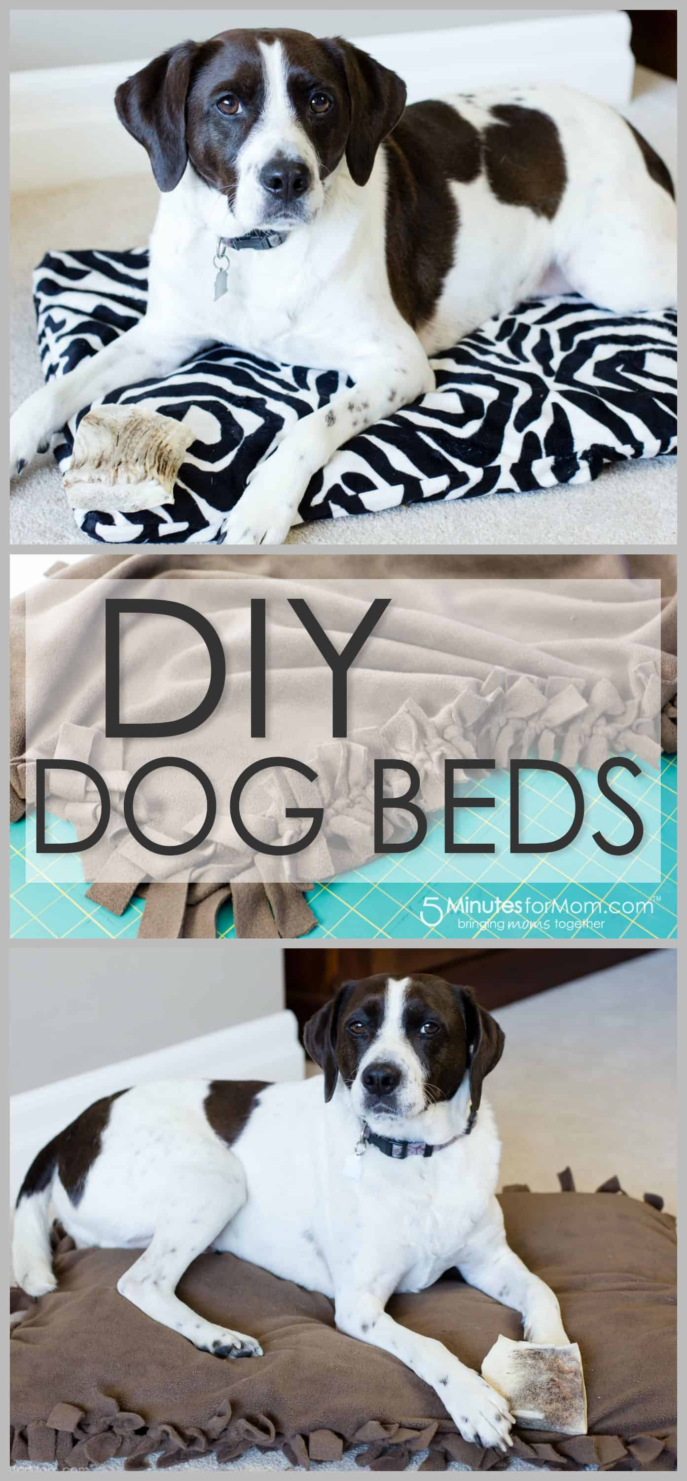 DIY dog bed tutorial - How to make a dog bed.