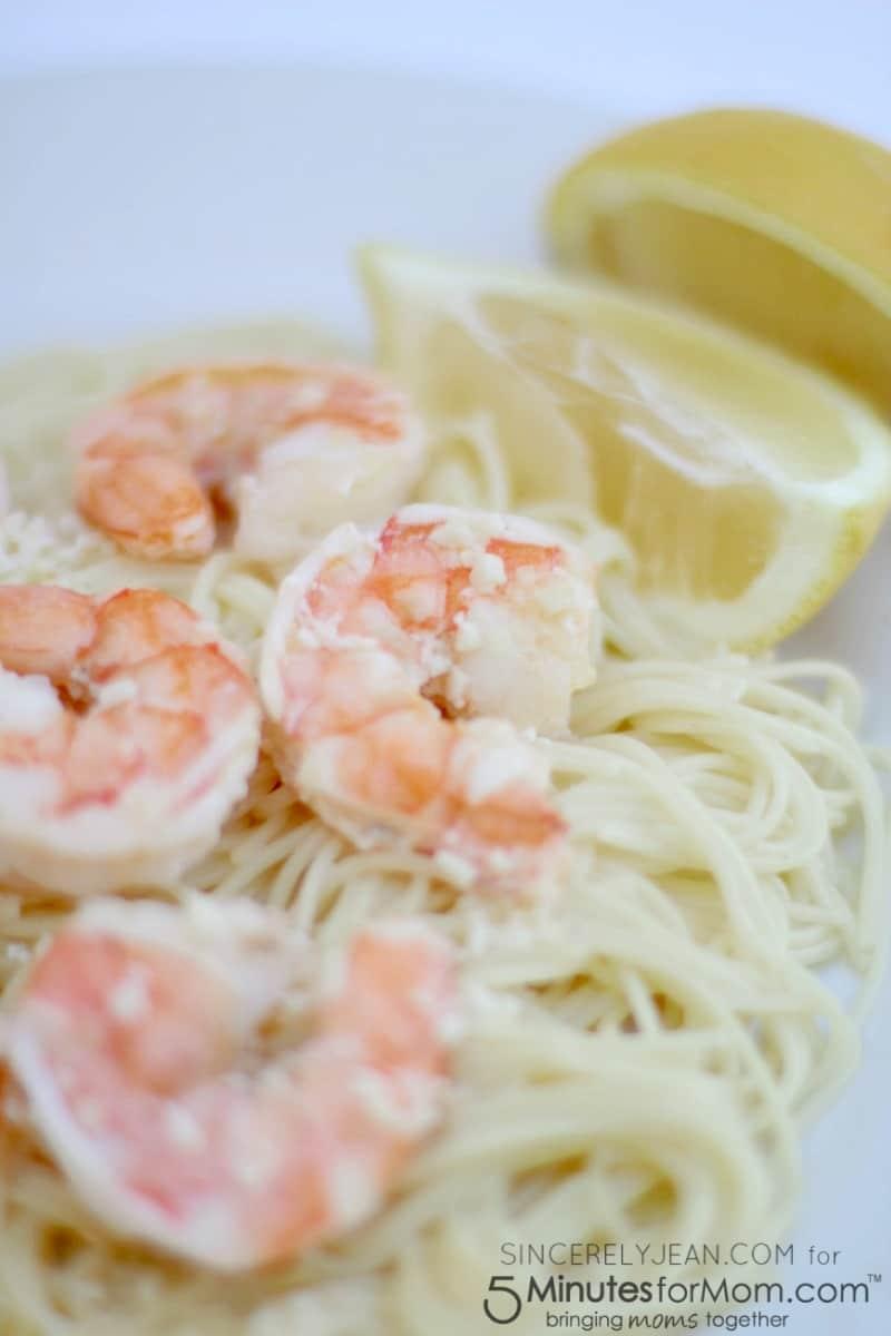 Easy 5 Ingredient Shrimp Scampi