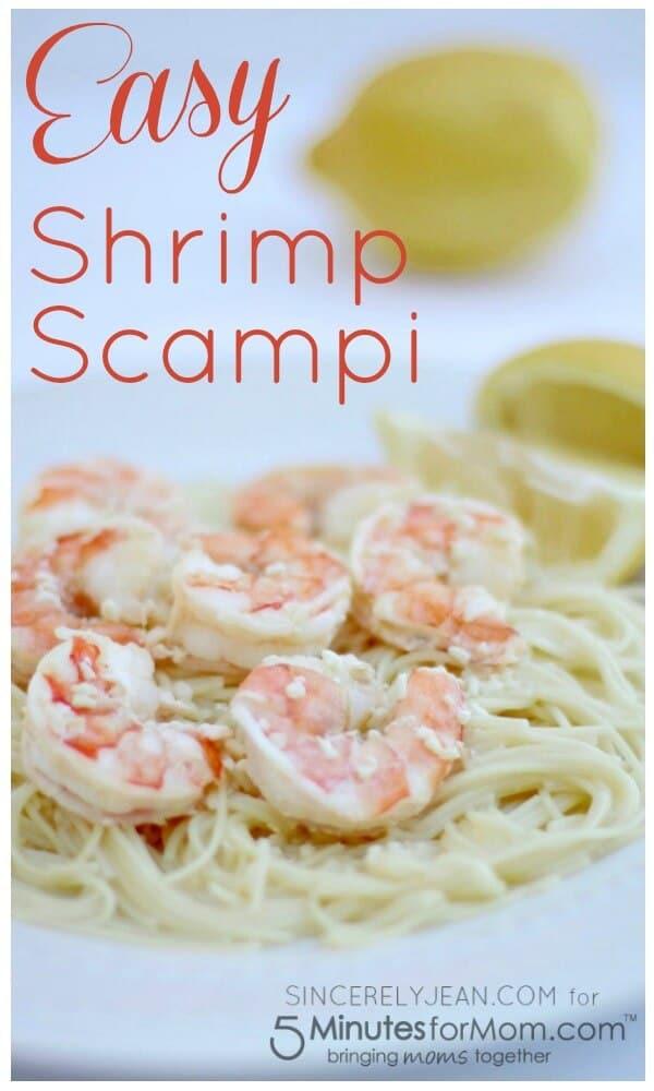 Easy Shrimp Scampi Pinterest