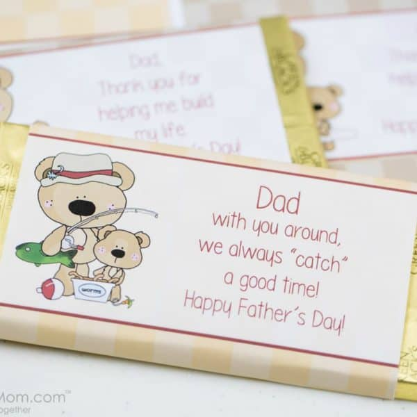 Father's Day Candy Bar Wrapper – Free Printable