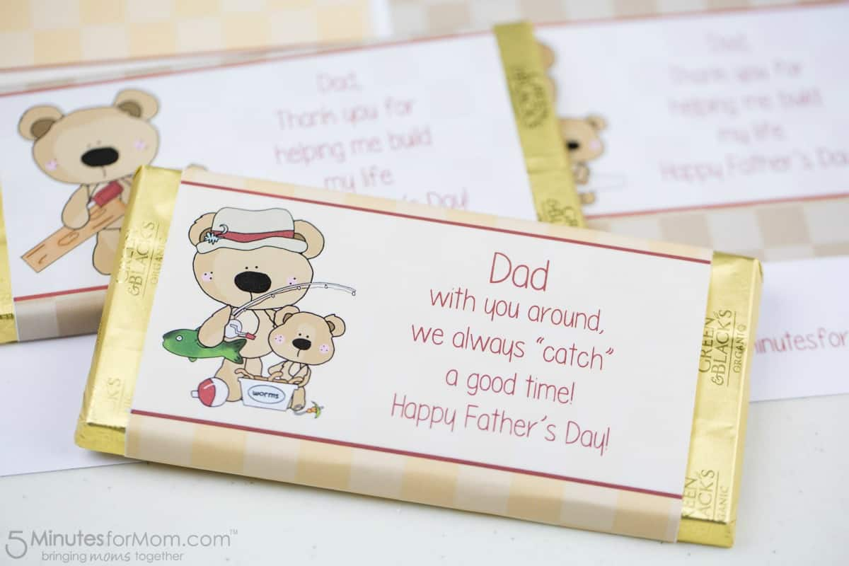 Fathers Day Candy Bar Printable - Good Time