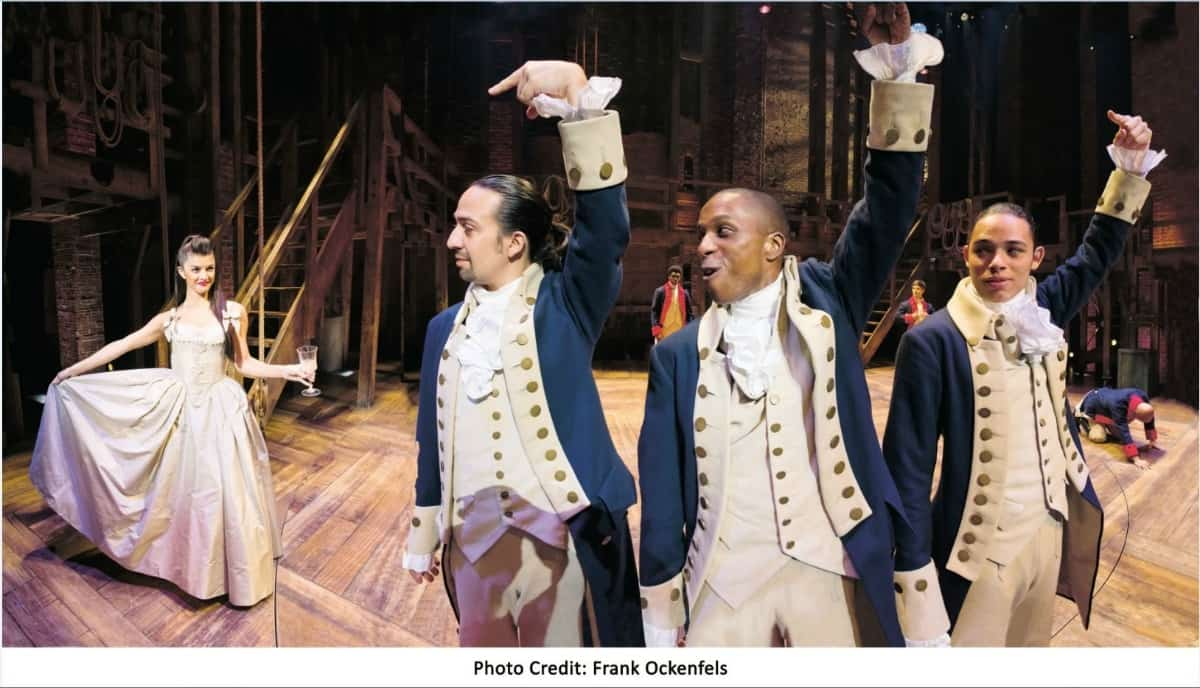 Hamilton Book Photo Credit Frank Ockenfels
