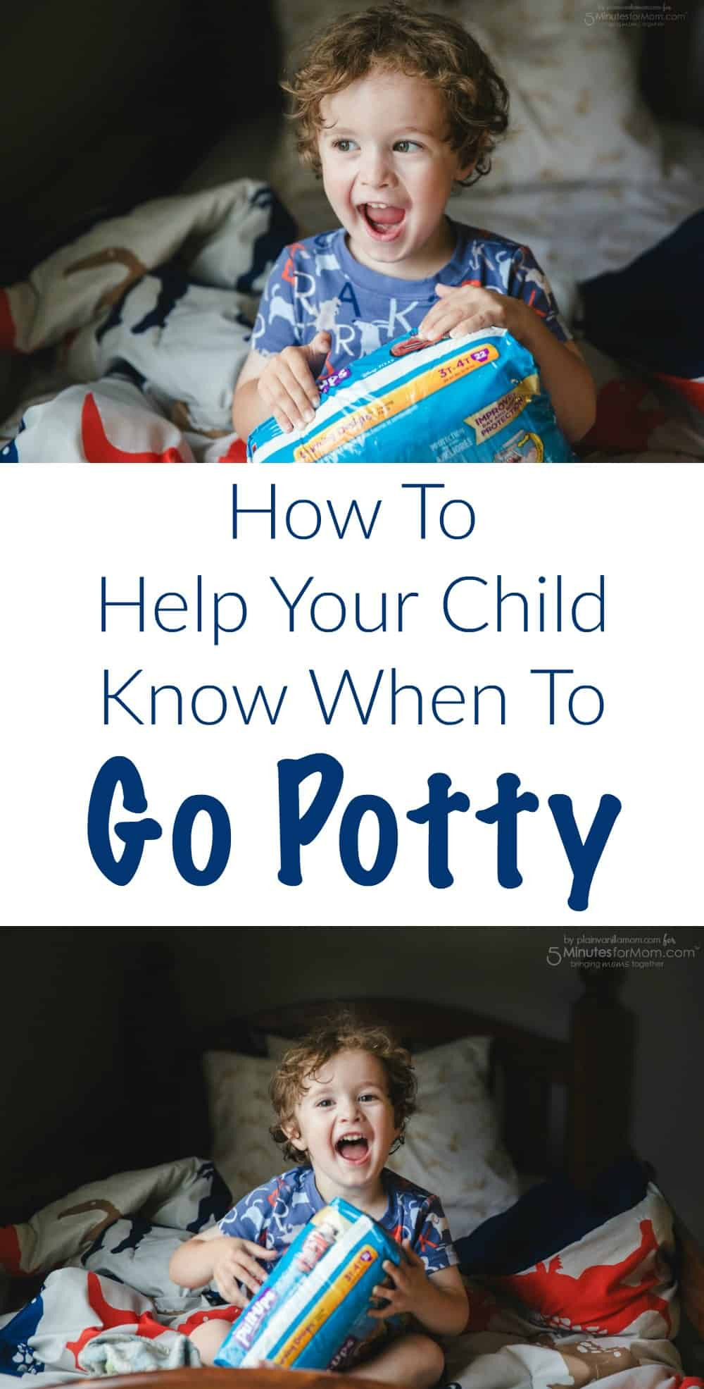 How to Help Your Child Know When To Go Potty