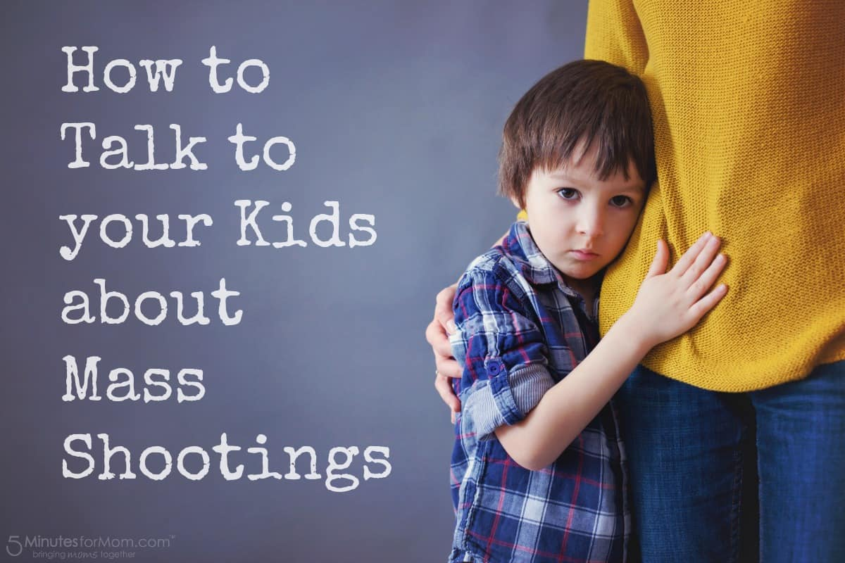 How to talk to kids about mass shootings