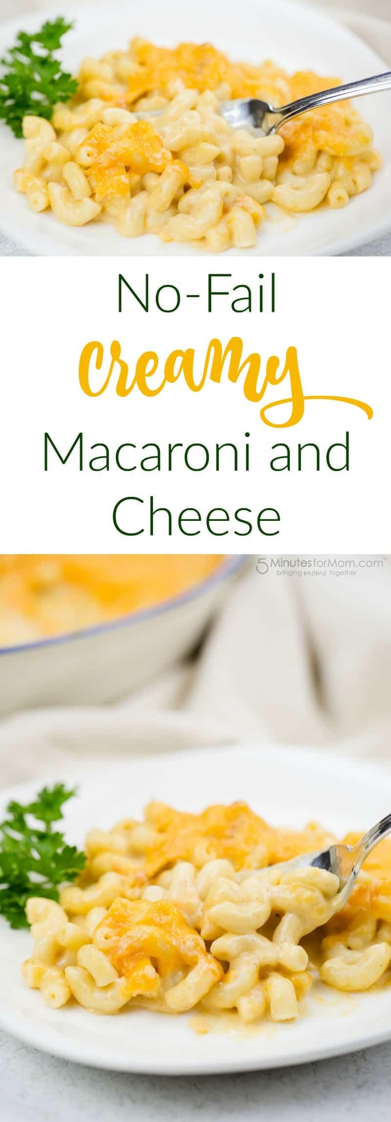 Kreminių makaronų ir sūrio receptas