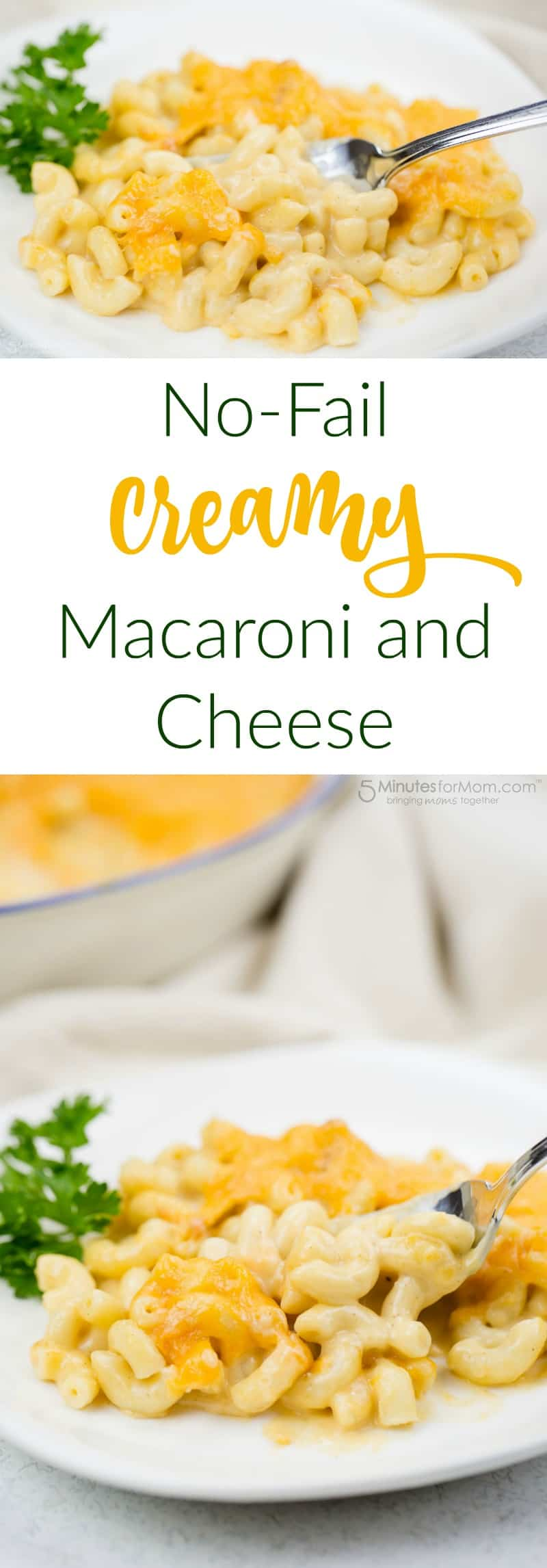 No-Fail Creamy Macaroni and Cheese Recipe