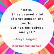 Hate Never Wins #OrlandoUnited