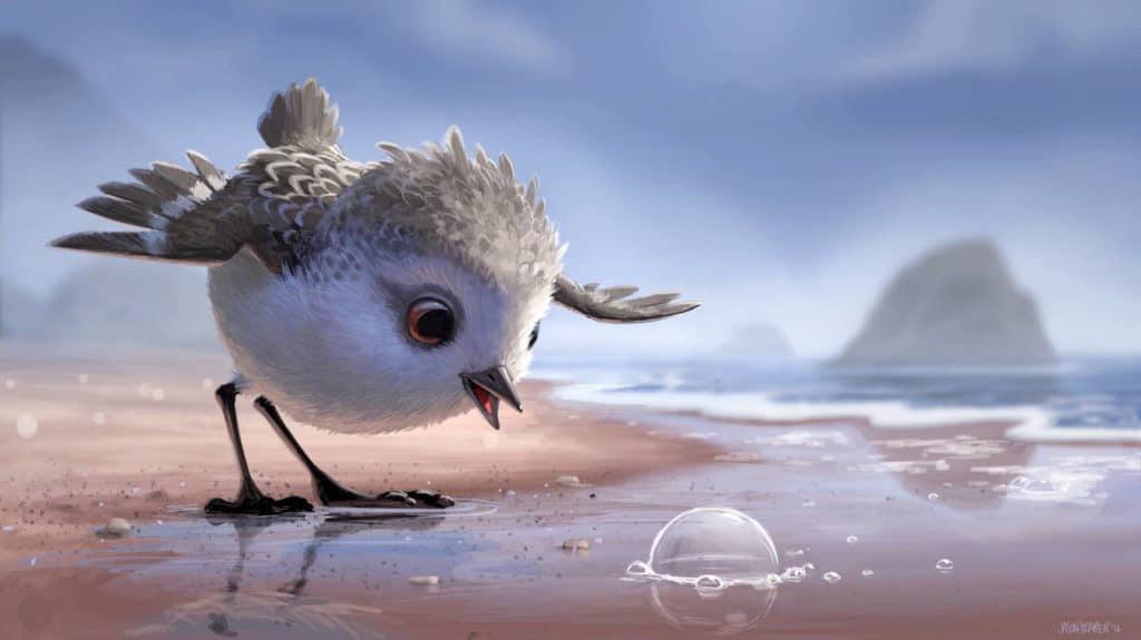 """Piper Bubble - Pixar Animation Short - """"Piper"""""""