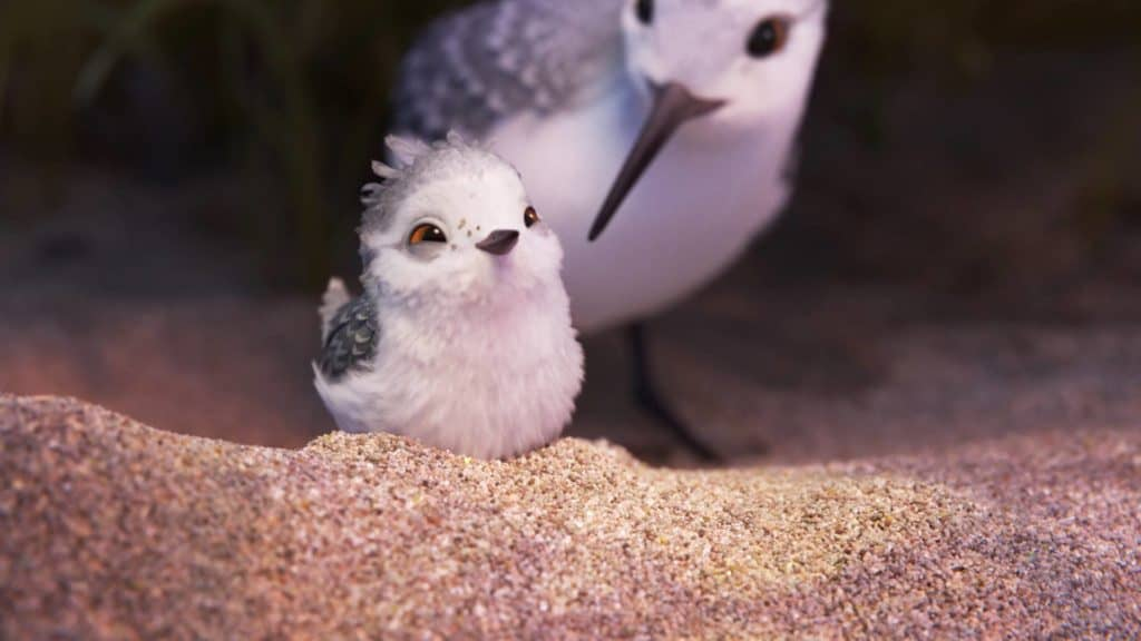 """Piper with Mama - Pixar Animation Short """"Piper"""""""