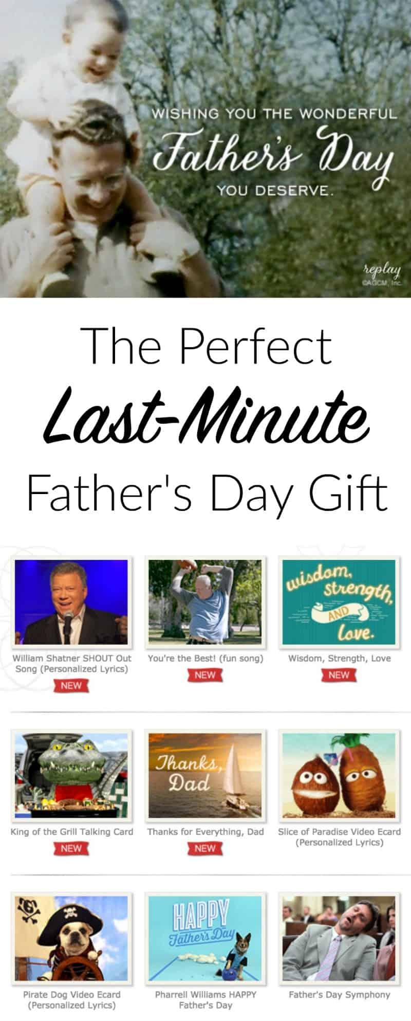 The Perfect Last-Minute Fathers Day Gift