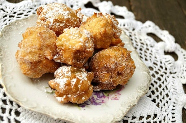 Apple Fritters from In the Kitchen with Jenny