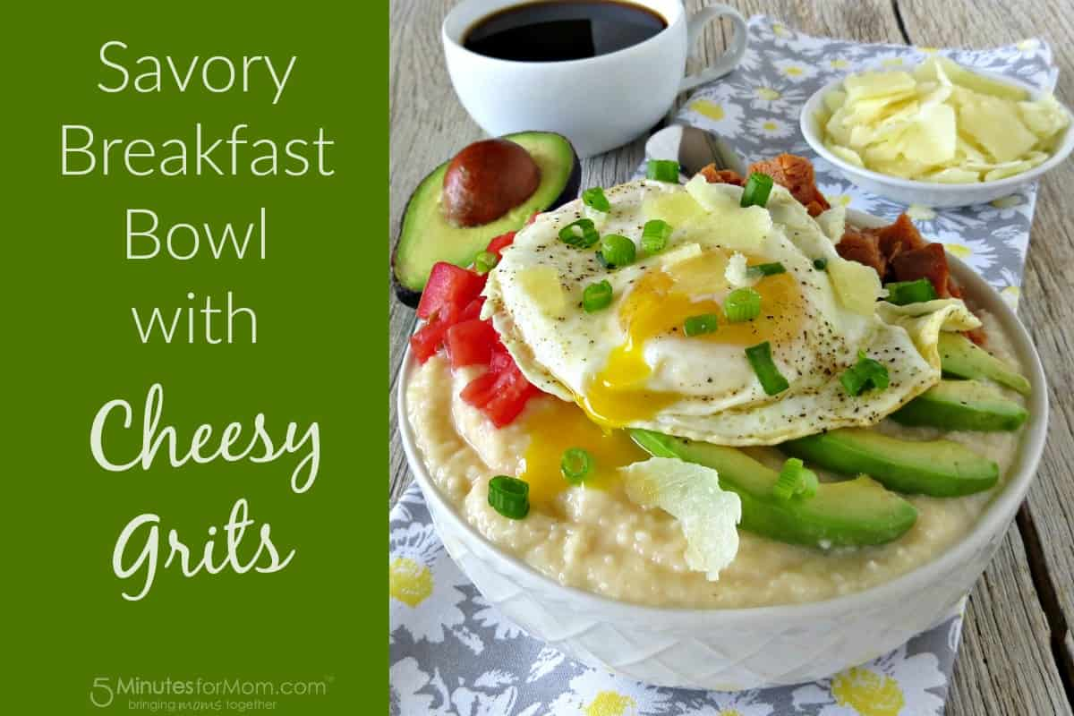 Breakfast Bowl with Cheesy Grits