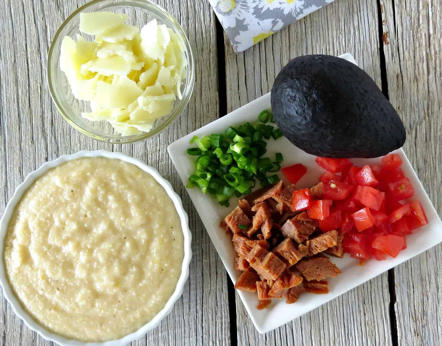 Cheesy Grits Ingredients