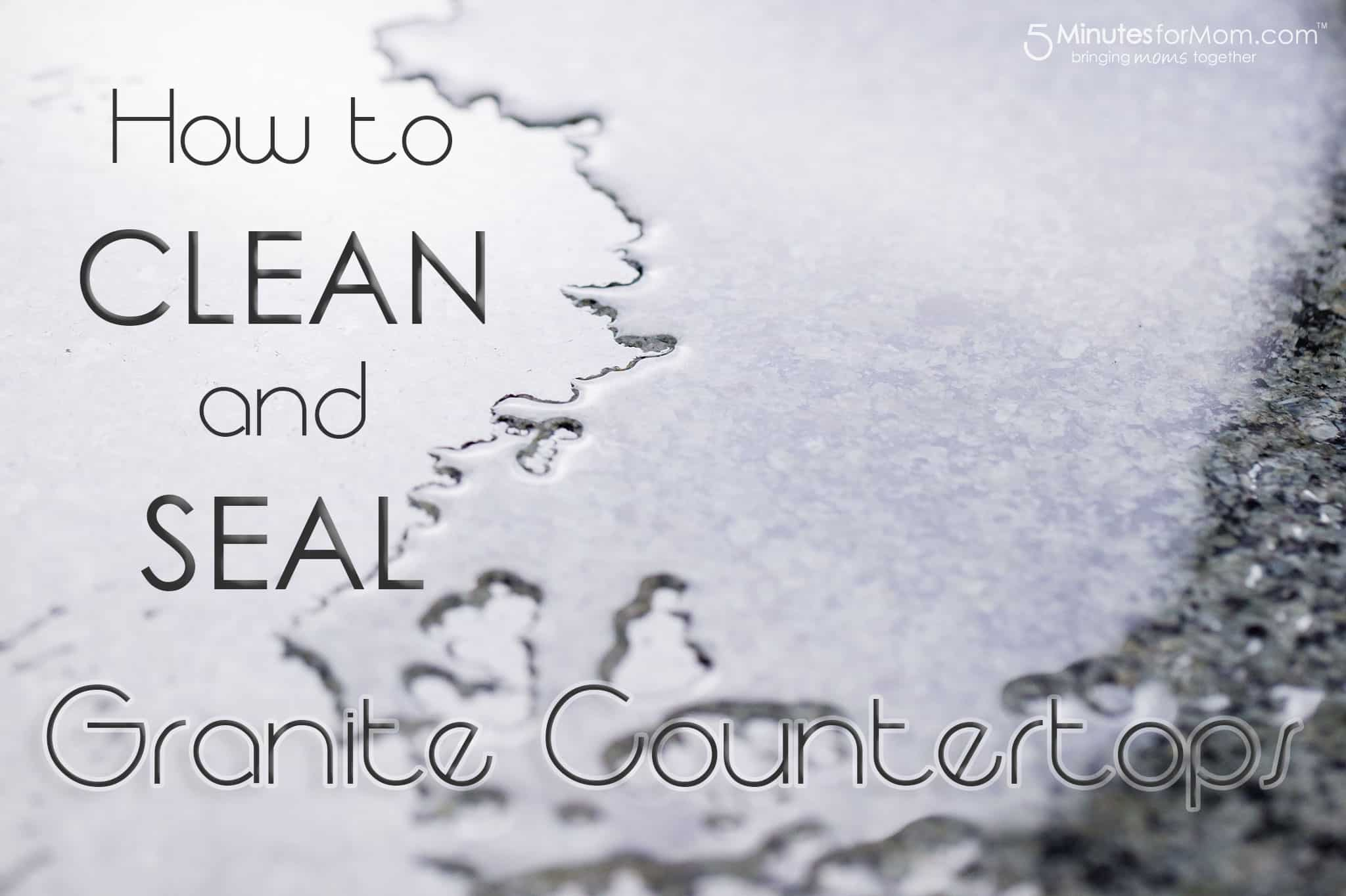 how to granite seal and sealing countertop countertops pin