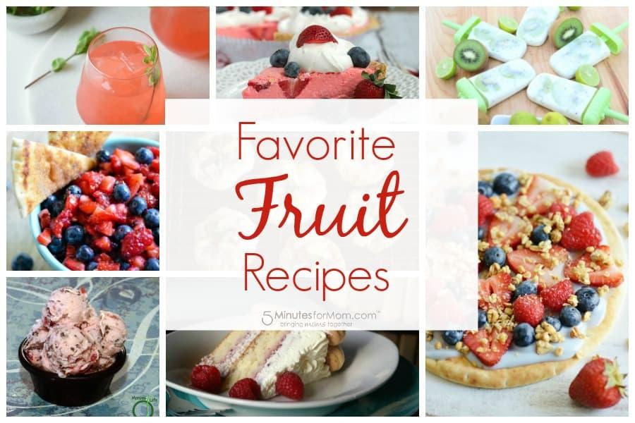 Fav Fruit Recipes