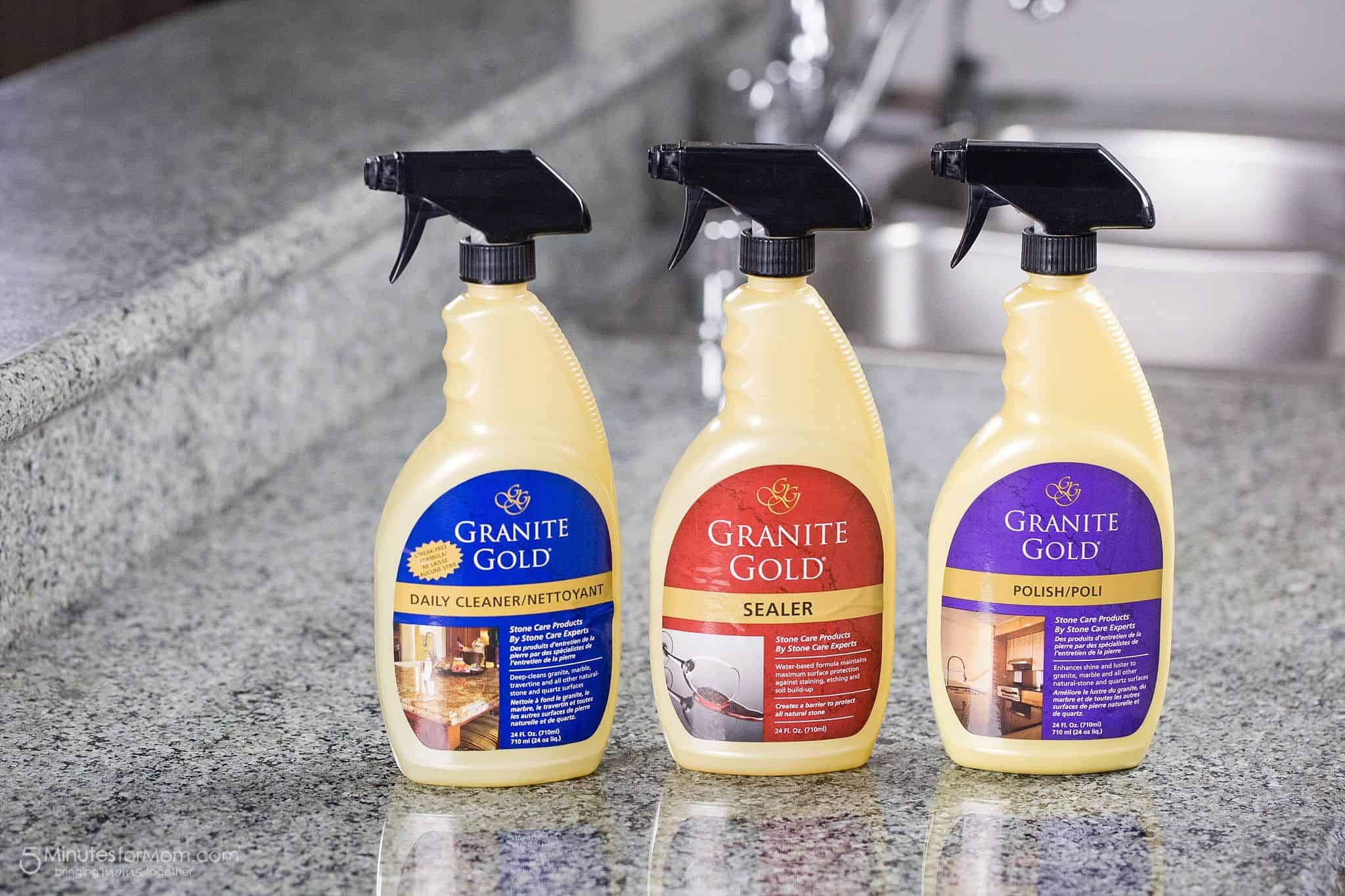 How To Clean And Seal Your Granite Countertop