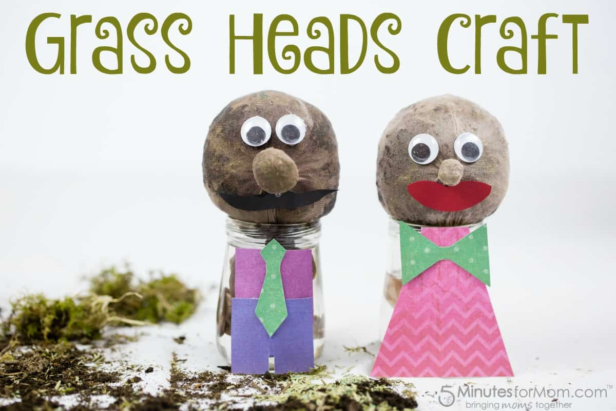 Grass Heads Craft