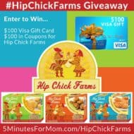 Healthy Family-Friendly Food #HipChickFarms Giveaway