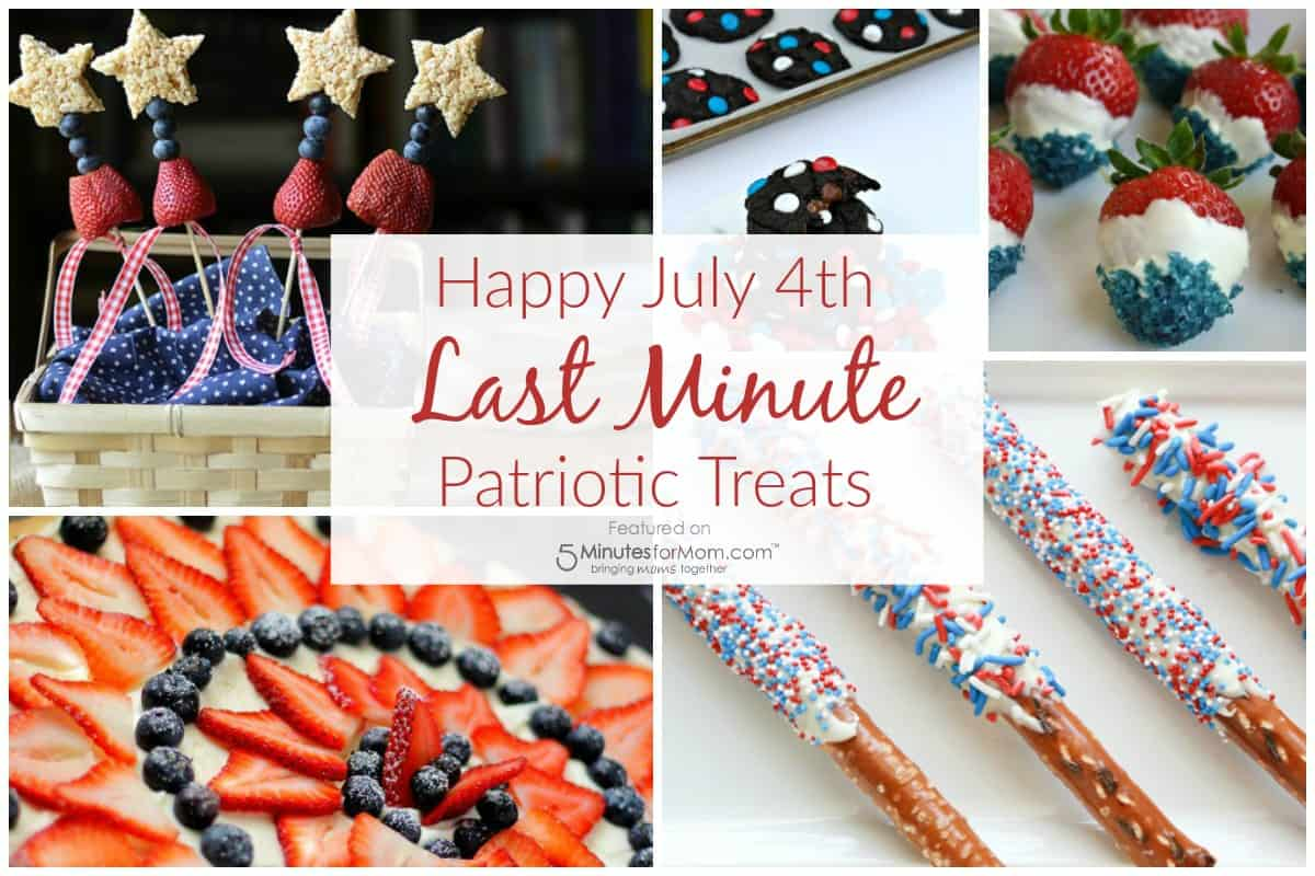 July 4th Recipes - Last Minute Treats