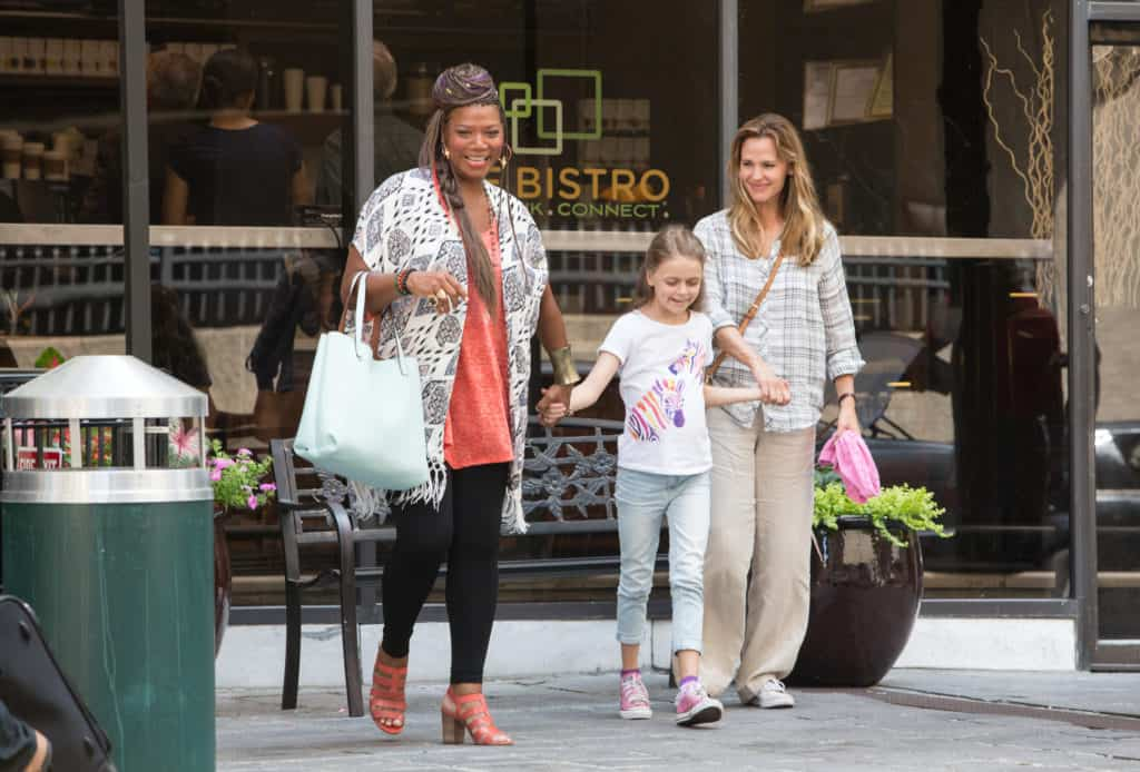 Jennifer Garner;Queen Latifah;Kylie Rogers