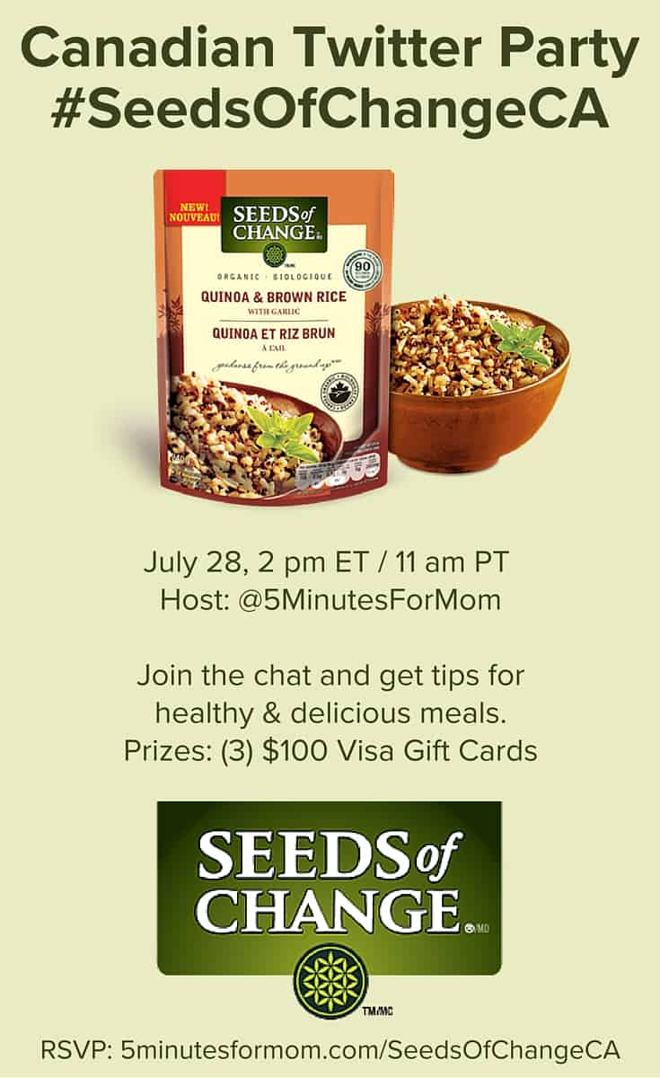 Seeds of Change Twitter Party