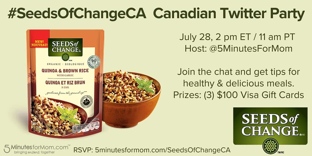 SeedsOfChangeCA Twitter Party