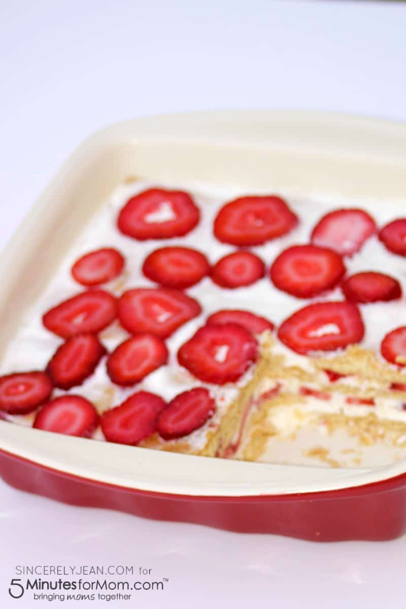 Summer Ice Box Cake