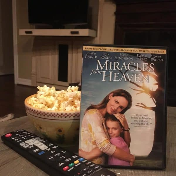 The importance of Faith and Friendship #MiraclesfromHeaven