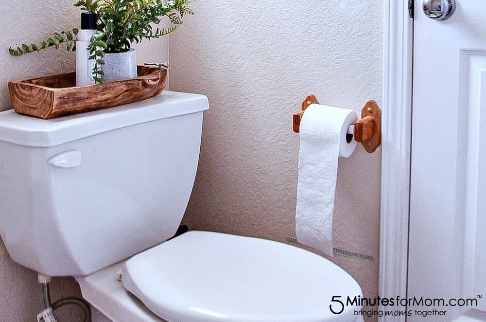 transitioning from the potty to toilet, organizing ideas and tips