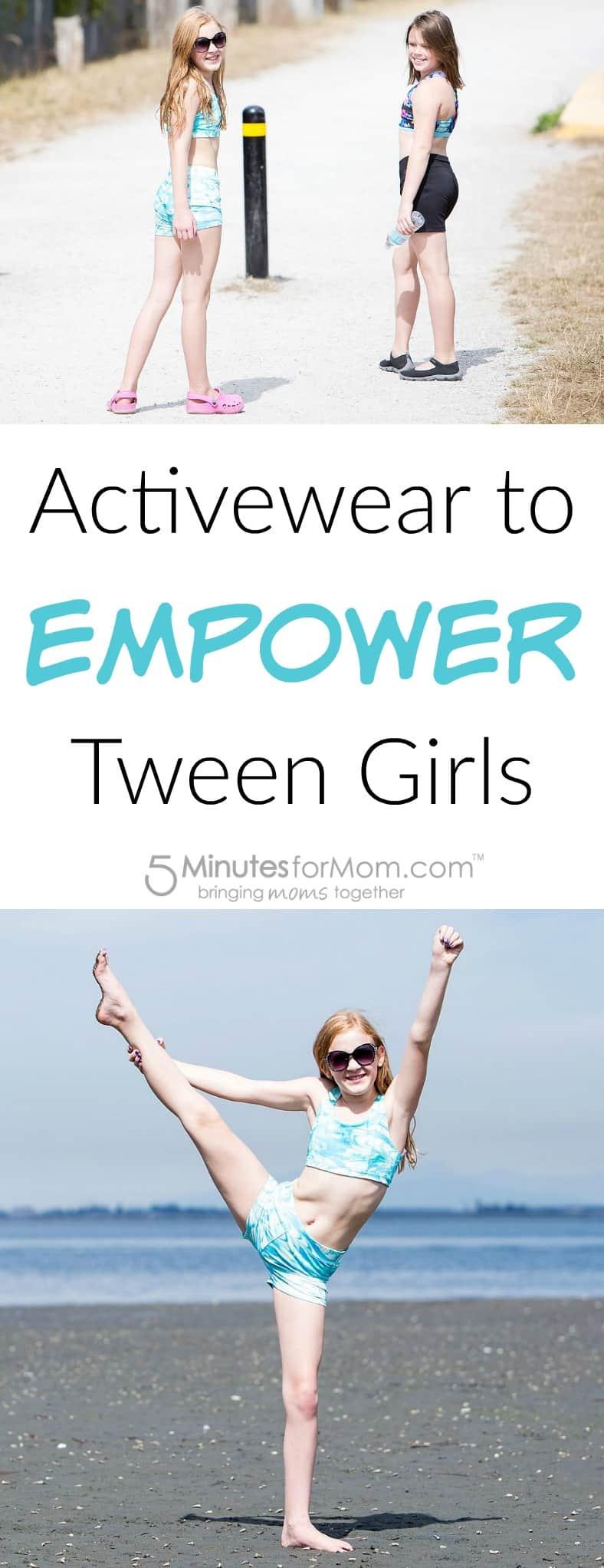 Activewear to Empower Tween Girls