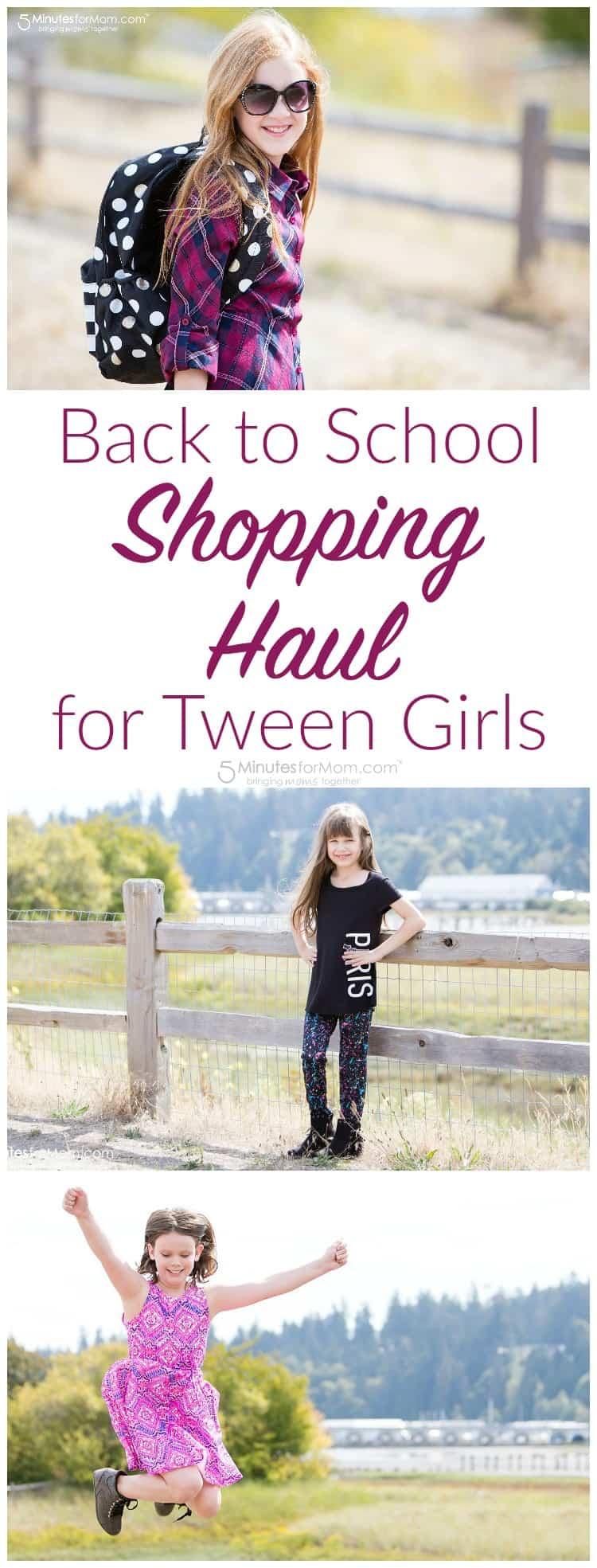 Back to School Shopping Haul for Tween Girls