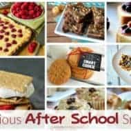 After School Snacks and our Delicious Dishes Recipe Party