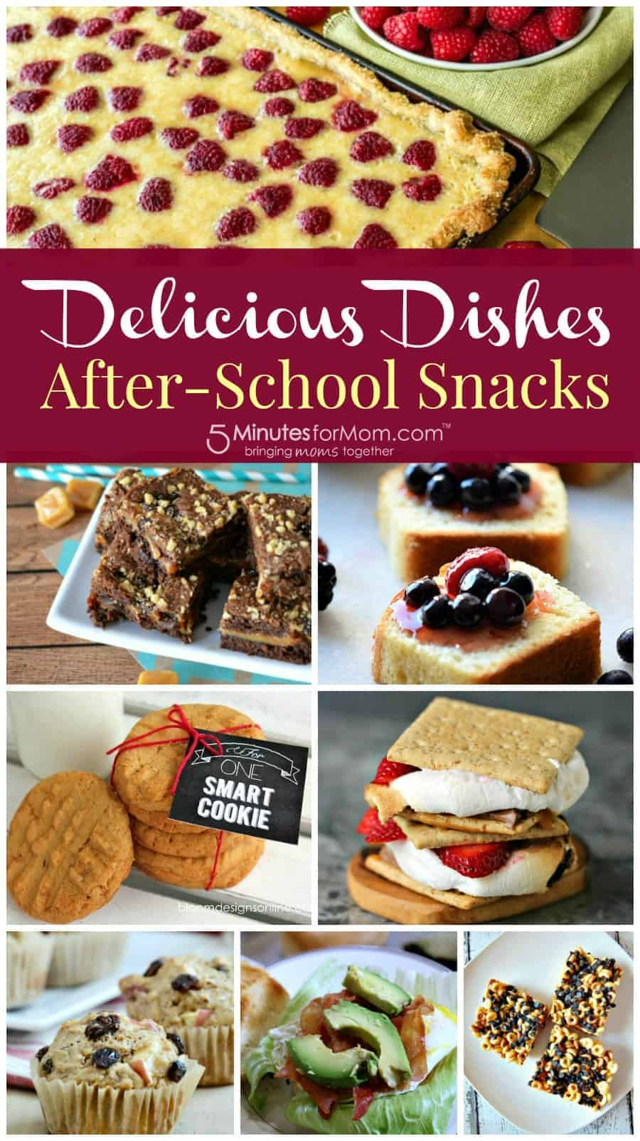 Delicious Dishes - After school snacks recipes