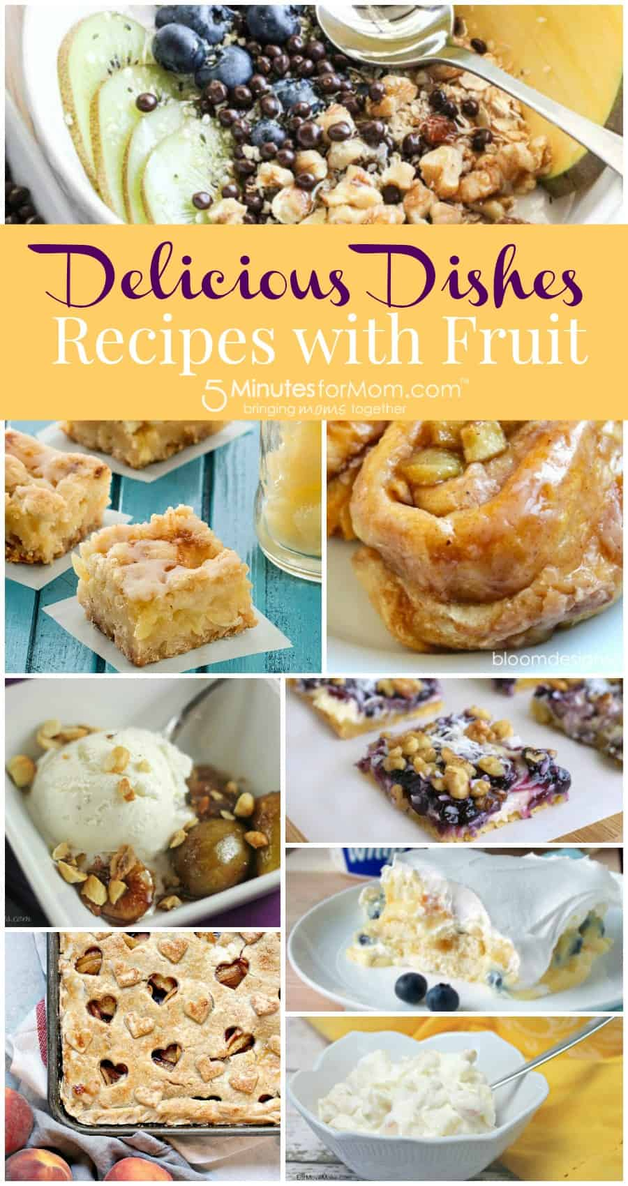 Delicious Dishes - Recipes with fruit